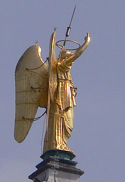 The angel of the Campanile of Saint Mark
